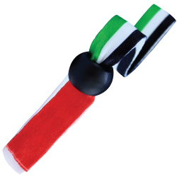 UAE Flag Ribbon Wristbands