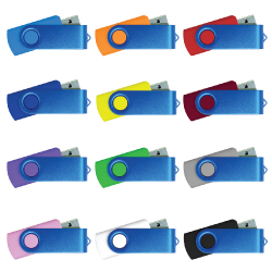 Blue Swivel USB 35-BL