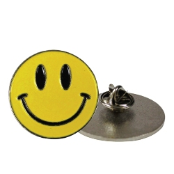 Smiley Metal Badges 2114