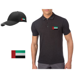 UAE Flag Embroidery Patch