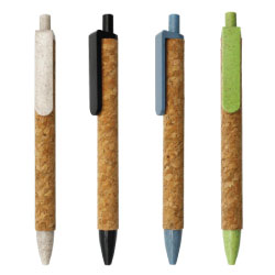 Wheat Straw and Cork Pens 071