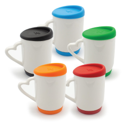 Mugs with Silicone Cap and Base 146N