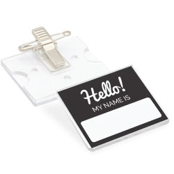 Reusable Insert Name Badges INB-07