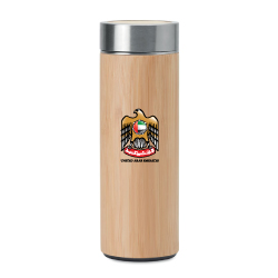 UAE Day Bamboo Flask TM-011