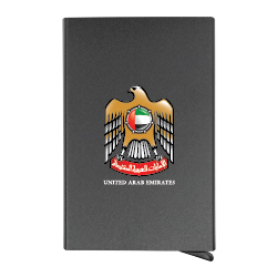 UAE Day Business Card Holders with RFID Protection