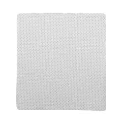 Non Slip White Fabric Mousepad 262