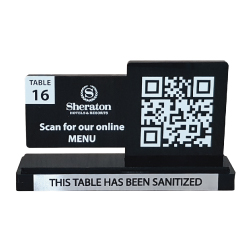 QR Code Table Stand 112