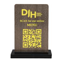QR Code Table Stand 106
