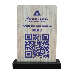 QR Code Table Stand QR-107