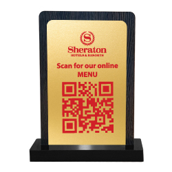 QR Code Table Stand QR-109
