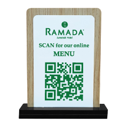 QR Code Table Stand 110