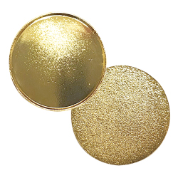 Gold Round Metal Badges 2115