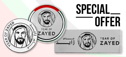 Year of Zayed Badges Offer