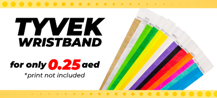 Tyvek Wristband Offers