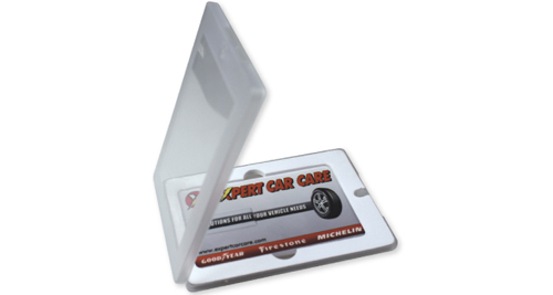 Plastic Card USB Packaging Box