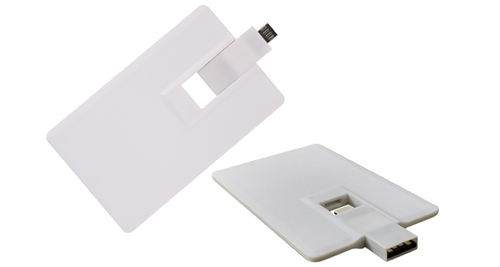 Mobile card shaped USB 8GB