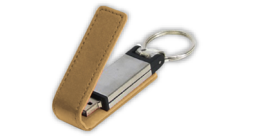 Two in One USB + Key Holder - 25