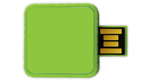 Twister USB - Green Color
