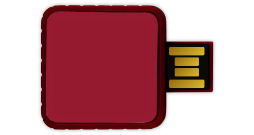 Twister USB - Maroon Color