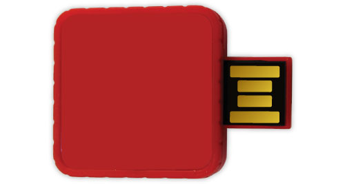 Twister USB - Red Color