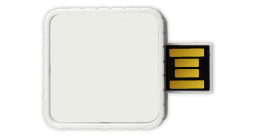 Twister USB - White Color