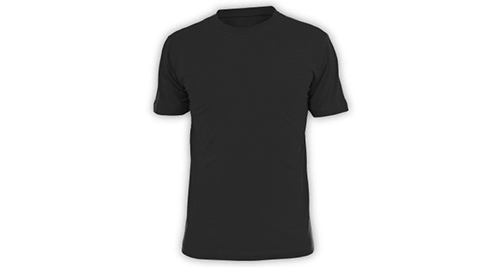Cotton T-shirt - Black Color
