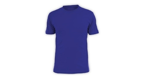 Cotton T-shirt - Blue Color