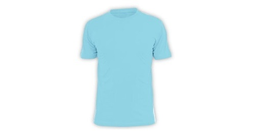 Cotton T-shirt - Sky Blue Color