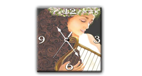 Ceramic Wall Clock  - 4