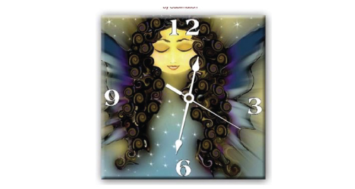 Ceramic Wall Clock - 5