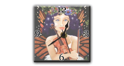 Ceramic Wall Clock - 6