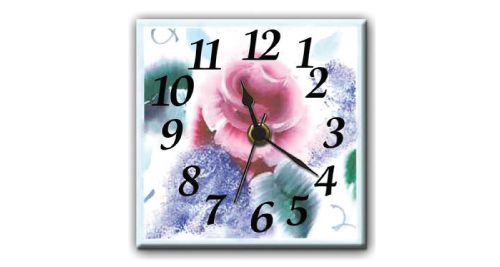 Ceramic Wall Clock - 7