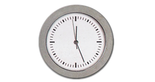 Clock Movement Silver 568