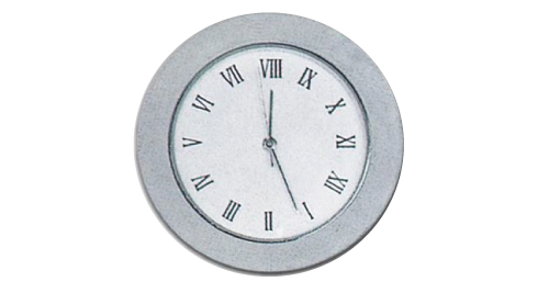 Clock Movement Silver 569