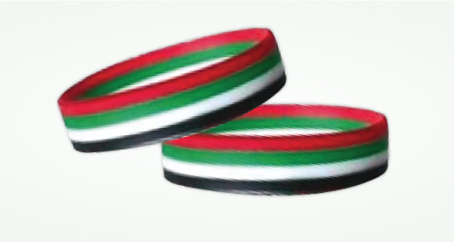 UAE Flag  Wristbands