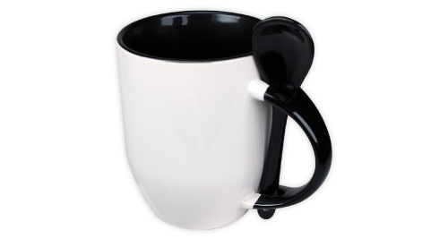 Sublimation 2 tone Mugs - Black