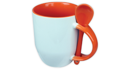 Sublimation 2 tone Mugs - Orange