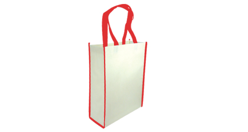 Non-Woven Reusable Bags Vertical - Red Color