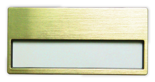Window Insert Name Badge 2032-G