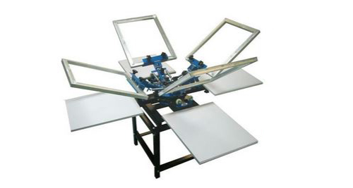 4 Tables Screen Printing Machines