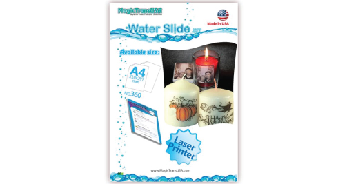 Water Slide Transfer Papers A4