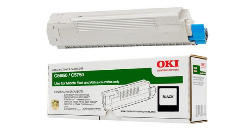 OKI 5650 Laser Printer Toner Cartridge - Black