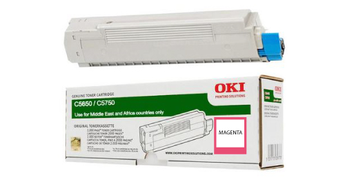 OKI 5650 Laser Printer Toner Cartridge- MAGENTA