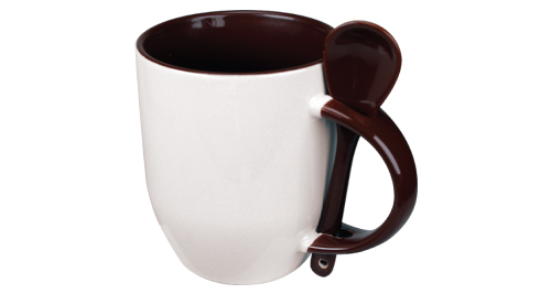 Sublimation 2 tone Mugs - Brown