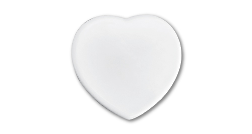 Heart Shape Ceramic 10cm - 244