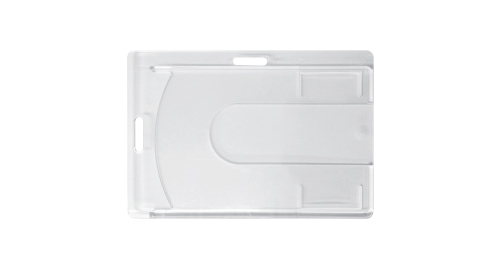 PVC Rigid Clear Card Holder