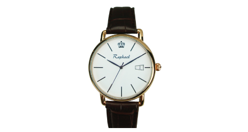 Gents Watch with Golden Color - WA-14G