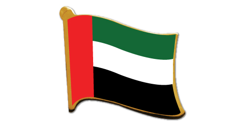 UAE Flag Pin - 2092
