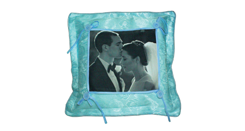 Cadet Blue Pillow - 707 - Blue