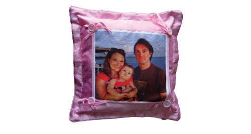 Dark Pink Pillow - 707 - Pink